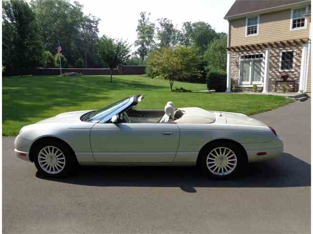2005 FORD THUNDERBIRD 50TH ANNIVERSARY | 1024866