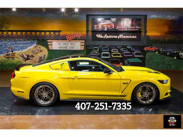 2016 Ford Mustang GT/CS (California Special) | 1024930