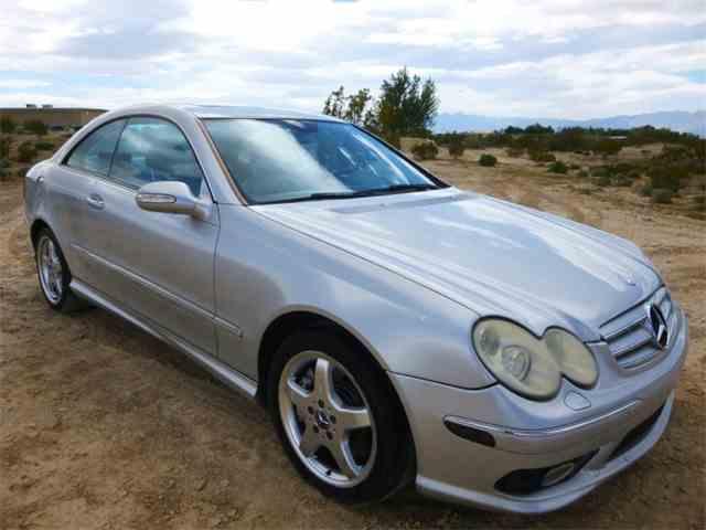 2004 Mercedes-Benz CLK-Class   1025301