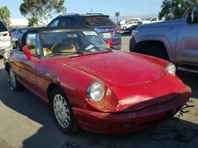 1992 Alfa Romeo Spider | 1025307