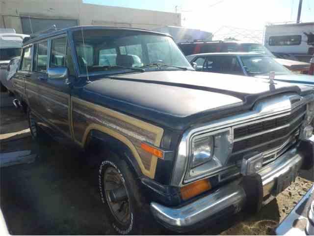 1987 Jeep Wagoneer | 1025348