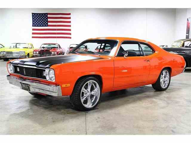 classic plymouth duster for sale on. Black Bedroom Furniture Sets. Home Design Ideas