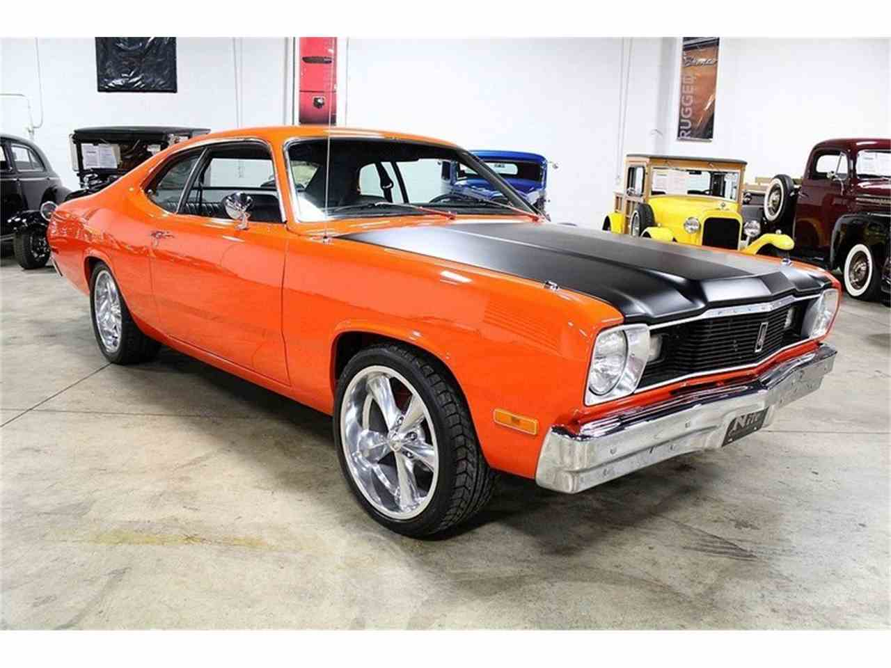 1975 plymouth duster for sale cc 1025484. Black Bedroom Furniture Sets. Home Design Ideas