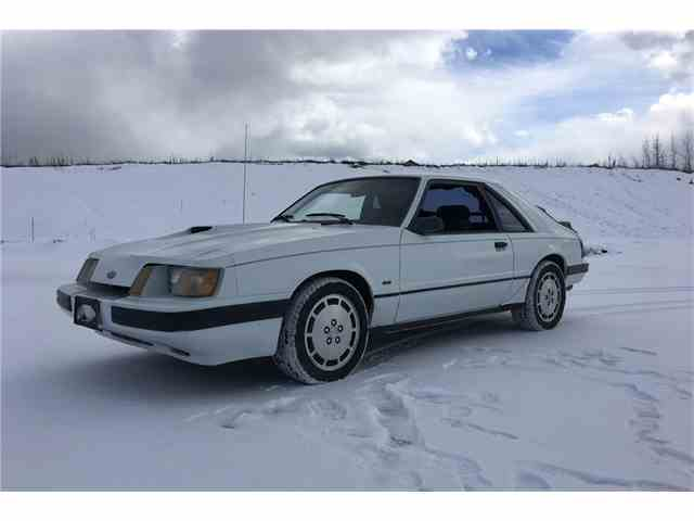 1985 Ford Mustang SVO | 1025518