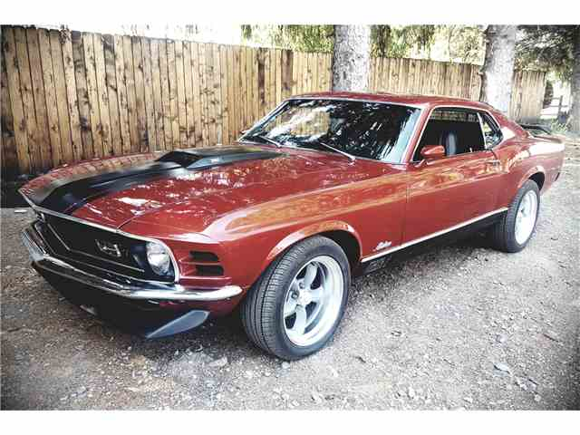1970 Ford Mustang Mach 1   1025754