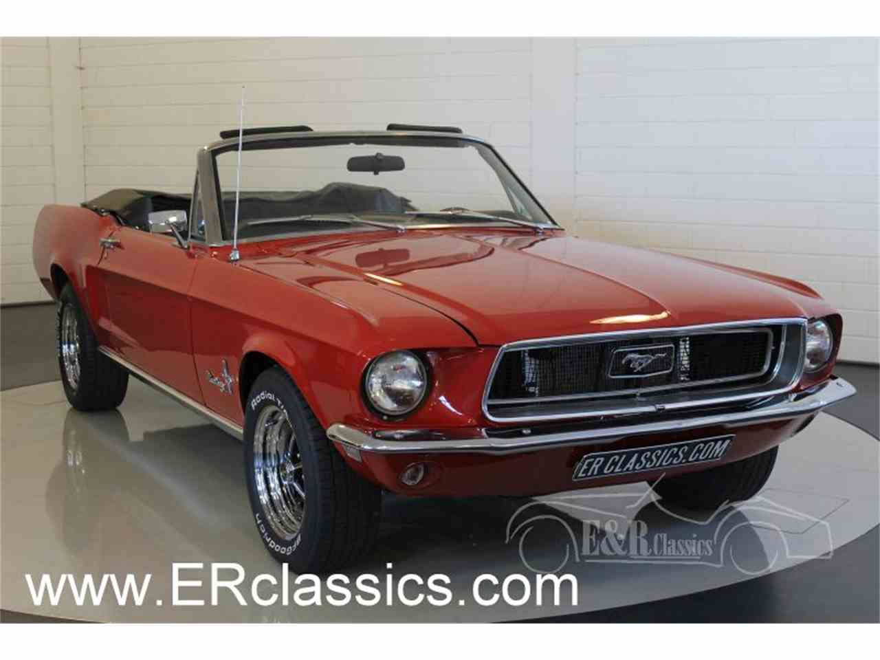 1968 ford mustang for sale cc 1025919. Black Bedroom Furniture Sets. Home Design Ideas