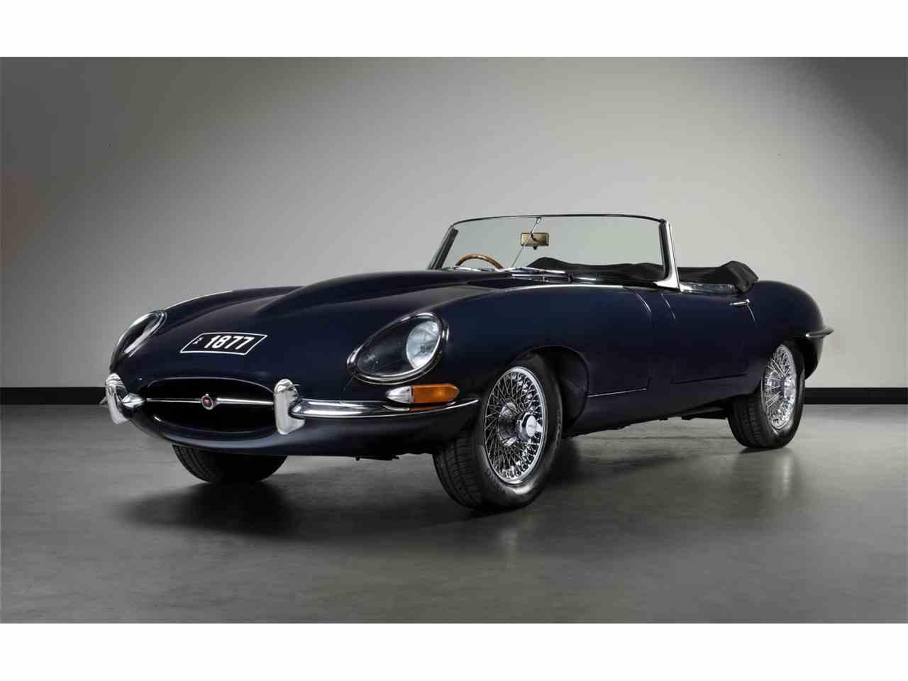 1961 jaguar e type for sale cc 1026051. Black Bedroom Furniture Sets. Home Design Ideas