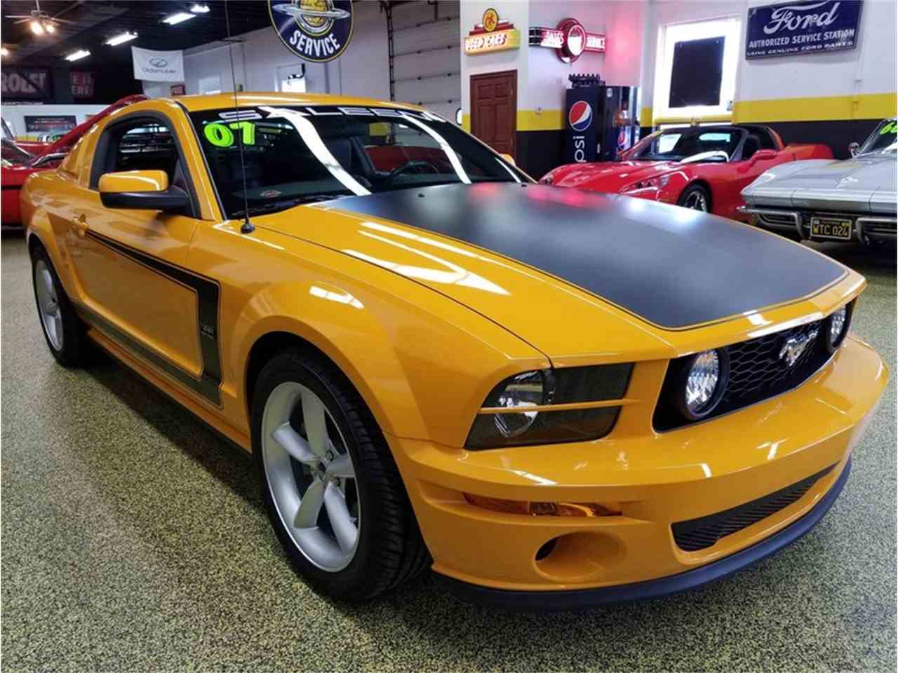 2007 ford mustang saleen heritage edition for sale cc 1026108. Black Bedroom Furniture Sets. Home Design Ideas