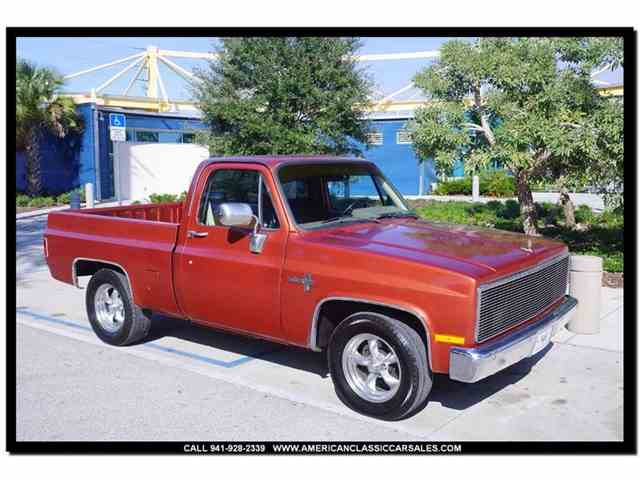 Picture of '87 Chevrolet C10 - $10,900.00 Offered by American Classic Car Sales - LZUZ