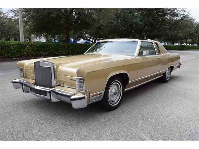 1977 to 1979 lincoln town car for sale on. Black Bedroom Furniture Sets. Home Design Ideas