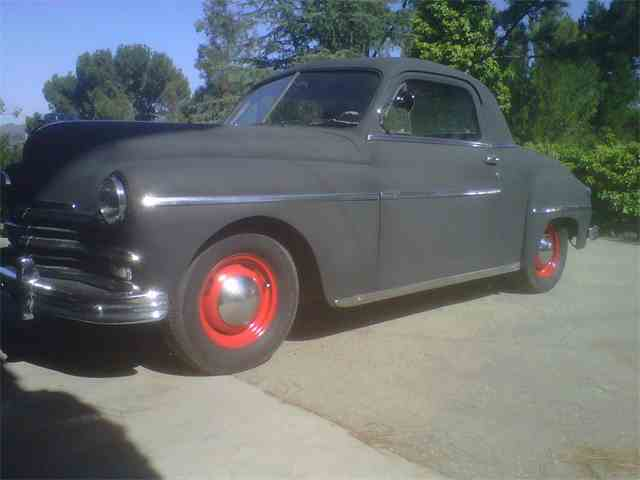 1949 Plymouth Business Coupe   1026511