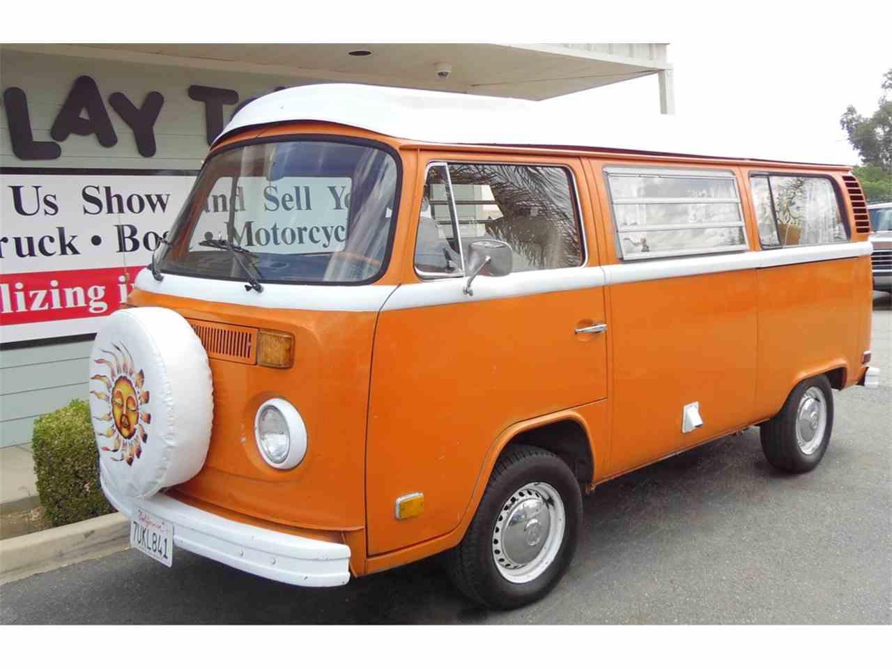 1973 volkswagen westfalia camper for sale cc 1020653. Black Bedroom Furniture Sets. Home Design Ideas