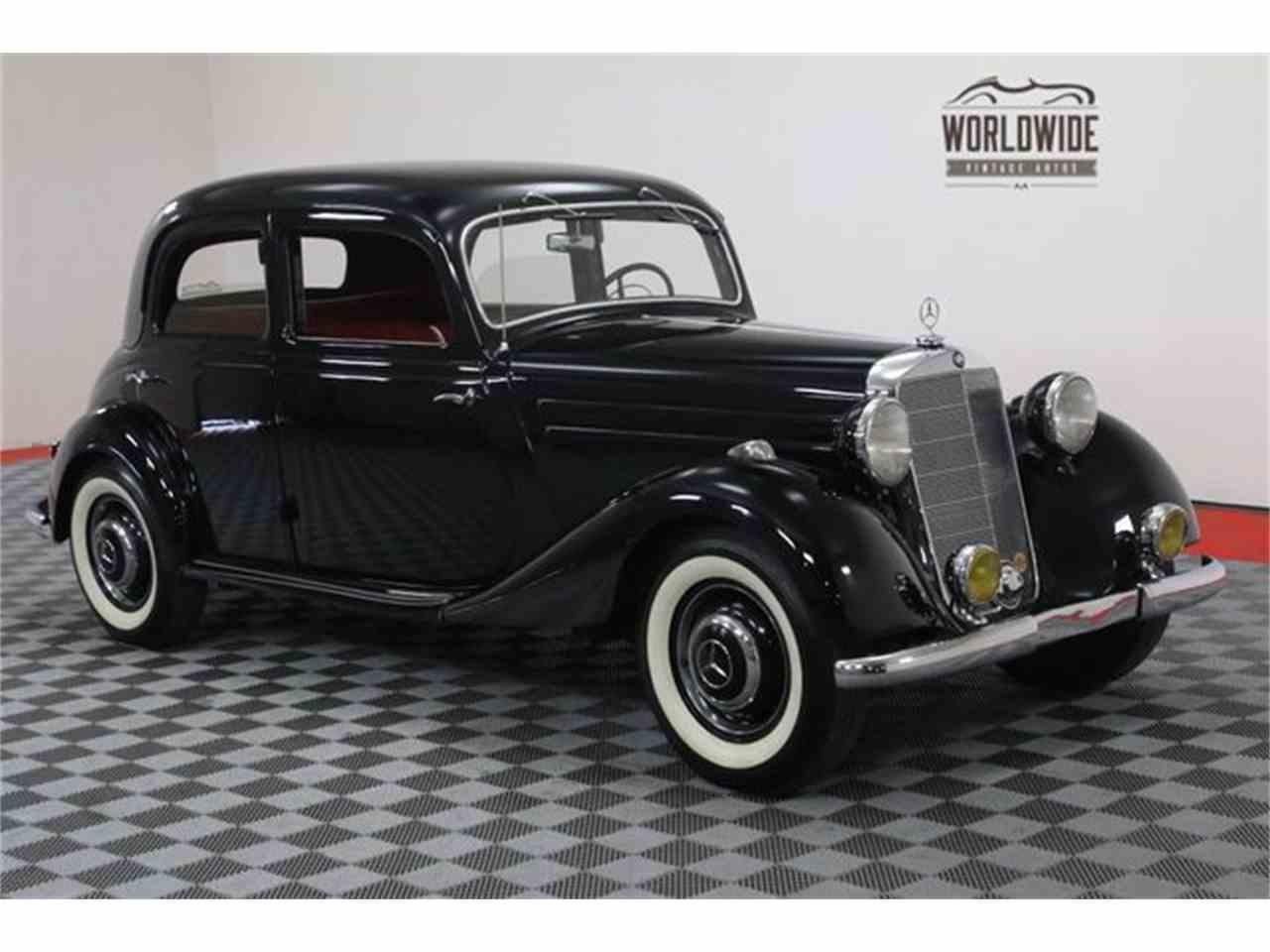 1952 mercedes benz 170va for sale cc for 1952 mercedes benz