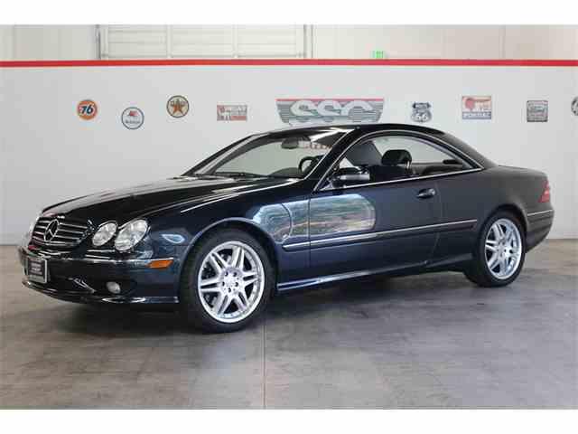 2002 Mercedes-Benz CL55 | 1026787