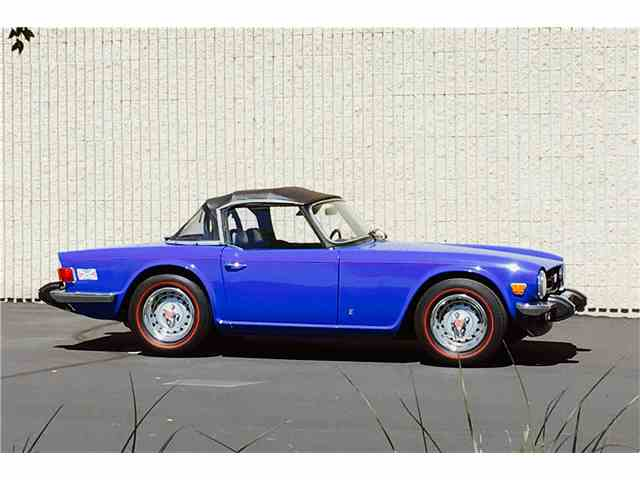 1976 Triumph TR6 | 1026930