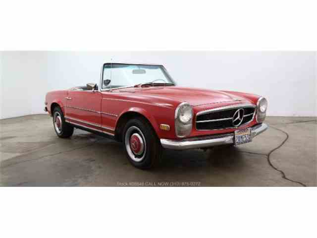 1966 to 1968 mercedes benz 250sl for sale on classiccars for Mercedes benz 1968 for sale