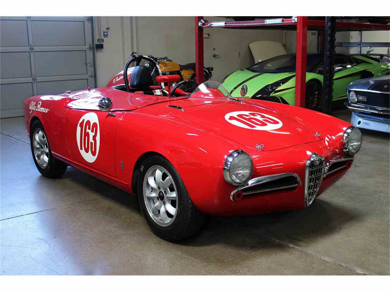 1956 alfa romeo giulietta spider for sale cc 1027123. Black Bedroom Furniture Sets. Home Design Ideas