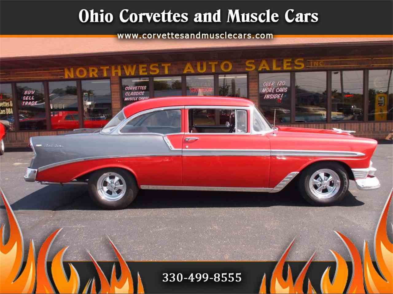 Large Picture of Classic '56 Chevrolet Bel Air located in Ohio Offered by Ohio Corvettes and Muscle Cars - LVL5