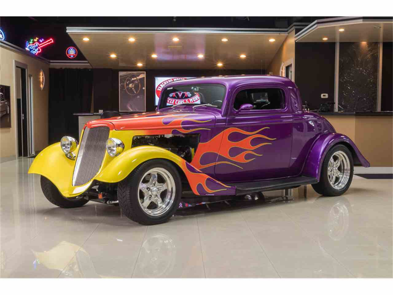 1934 ford 3 window coupe street rod for sale classiccars for 1934 ford 3 window coupe