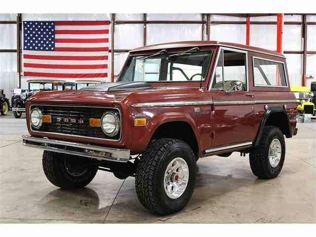 1970 ford bronco for sale on 11 available. Black Bedroom Furniture Sets. Home Design Ideas