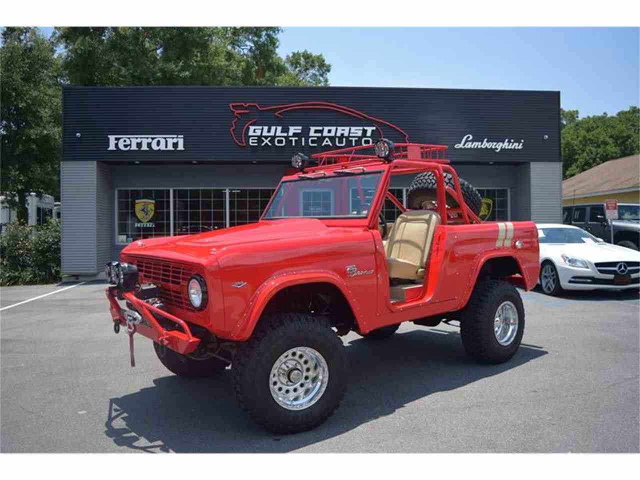 1966 ford bronco for sale cc 1027522. Black Bedroom Furniture Sets. Home Design Ideas