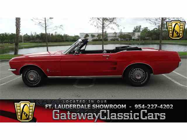 Picture of Classic 1967 Mustang located in Coral Springs Florida Offered by Gateway Classic Cars - Fort Lauderdale - M0YB