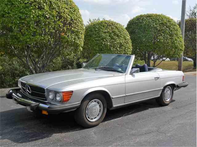 1975 mercedes benz 450sl for sale on for Mercedes benz 450 sl