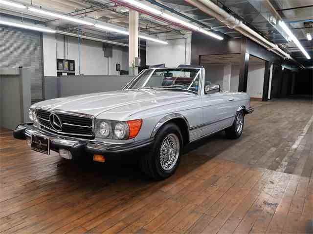 1985 Mercedes-Benz 380SL | 1027905