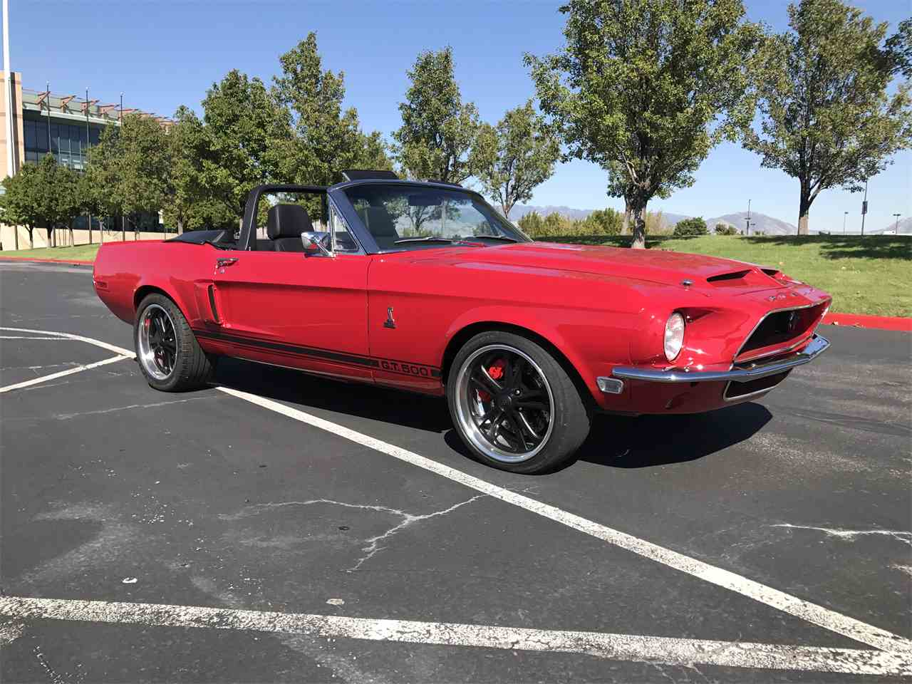 1968 ford mustang shelby gt500 for sale cc 1027913. Black Bedroom Furniture Sets. Home Design Ideas
