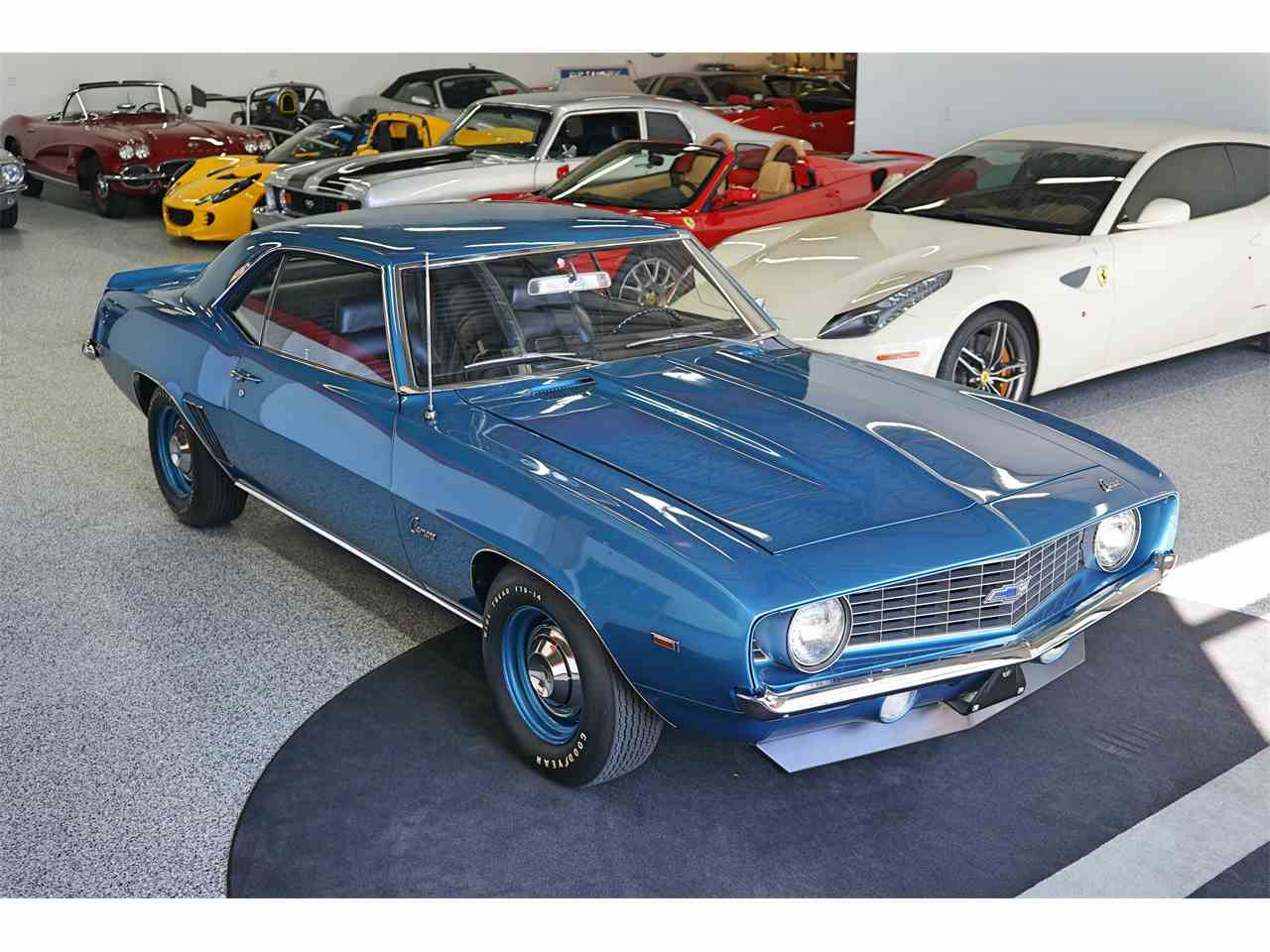 1969 chevrolet camaro copo for sale cc 1027928. Black Bedroom Furniture Sets. Home Design Ideas
