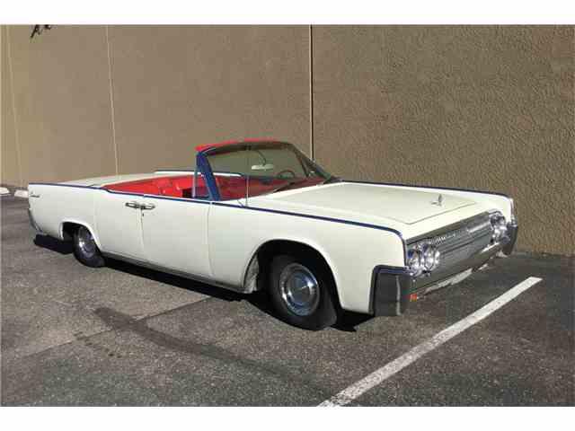 1963 Lincoln Continental   1027970