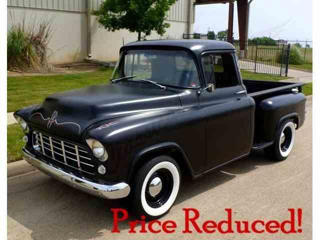 1955 chevrolet pickup for sale on. Black Bedroom Furniture Sets. Home Design Ideas