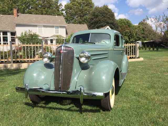 1936 Chevrolet Sedan | 1028193