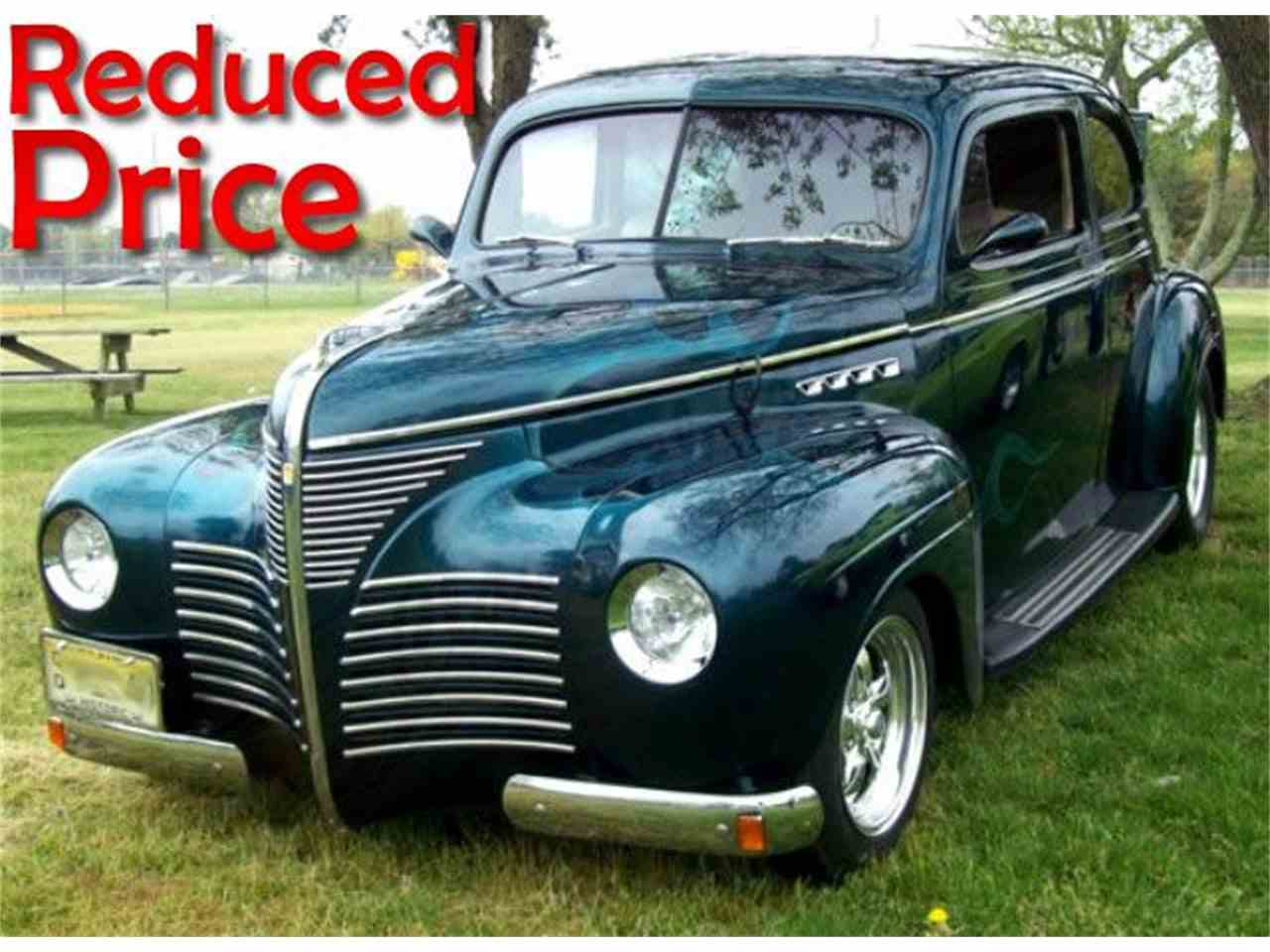 1940 plymouth sedan for sale cc 1028269. Black Bedroom Furniture Sets. Home Design Ideas