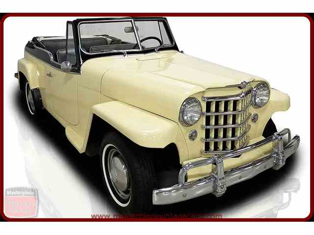 1949 to 1951 Willys Jeepster for Sale on ClassicCars.com ...