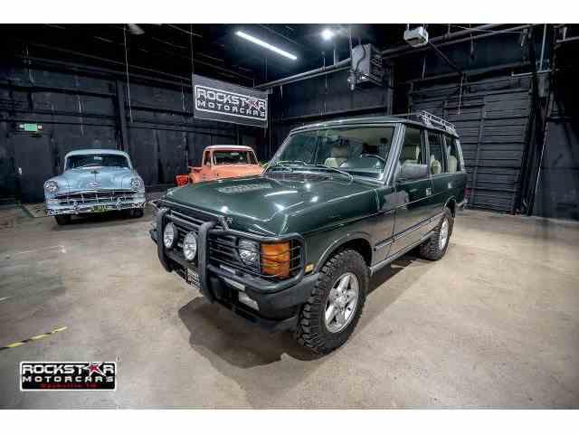 1995 Land Rover Range Rover | 1028674