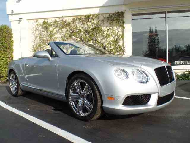 2013 Bentley Continental GTC V8 | 1028851