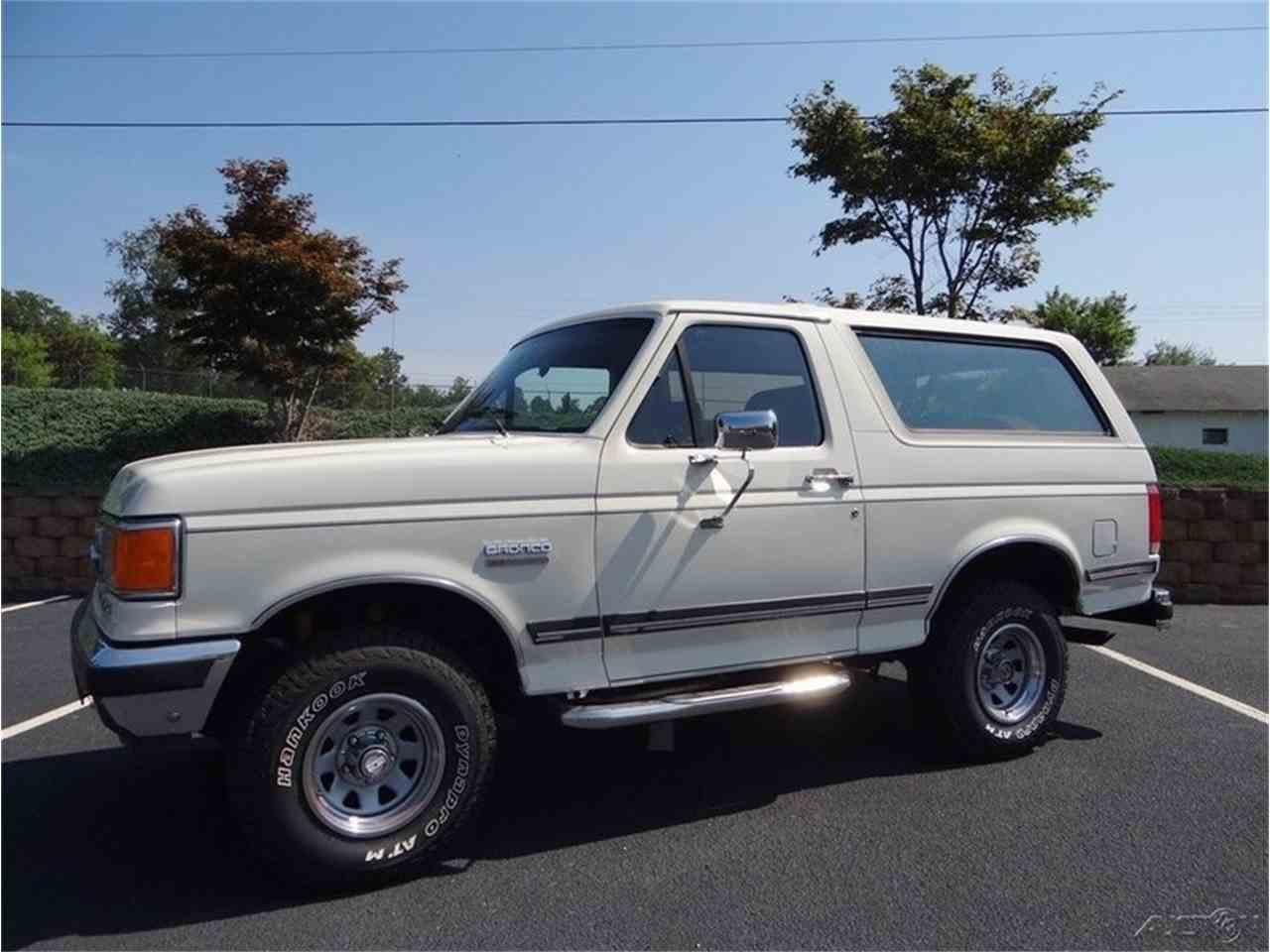 Large Picture of '87 Bronco - LVQS