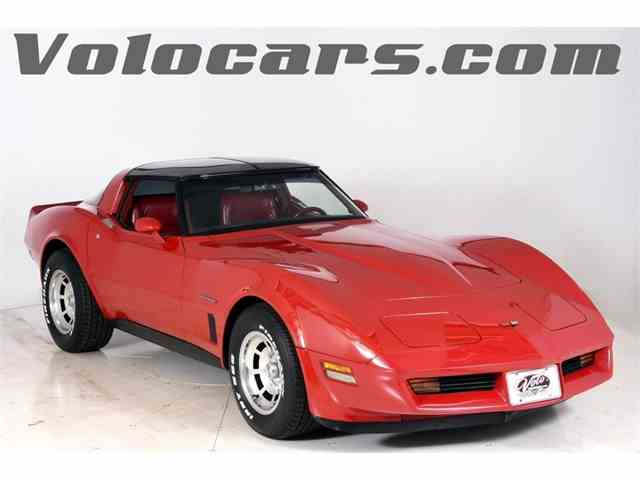 1980 to 1982 chevrolet corvette for sale on classiccars. Black Bedroom Furniture Sets. Home Design Ideas