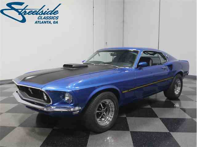 1969 ford mustang mach 1 for sale on 18 available. Black Bedroom Furniture Sets. Home Design Ideas