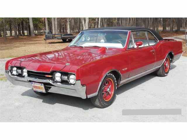 1967 Oldmobile Cutlass Supreme 442   1020936