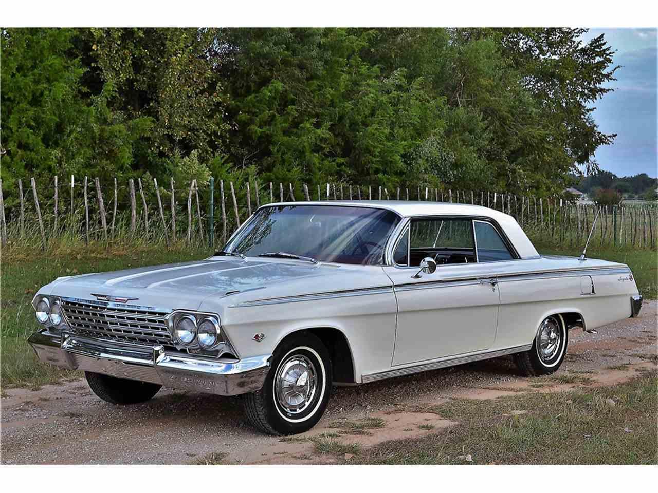 1962 chevrolet impala ss for sale cc 1029485. Black Bedroom Furniture Sets. Home Design Ideas