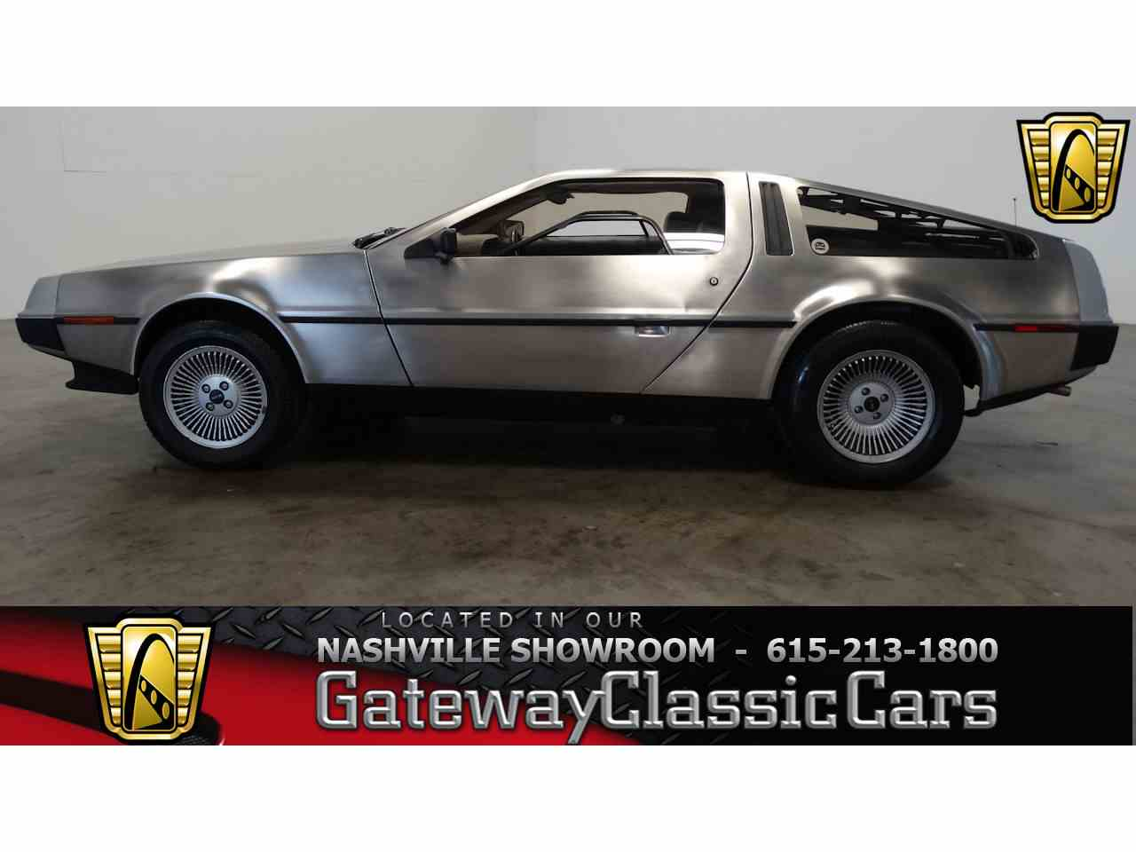 Large Picture of 1981 DeLorean DMC-12 located in La Vergne Tennessee Offered by Gateway Classic Cars - Nashville - M2L4