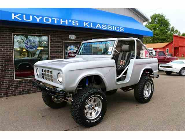 Picture of Classic 1968 Ford Bronco - M2MS