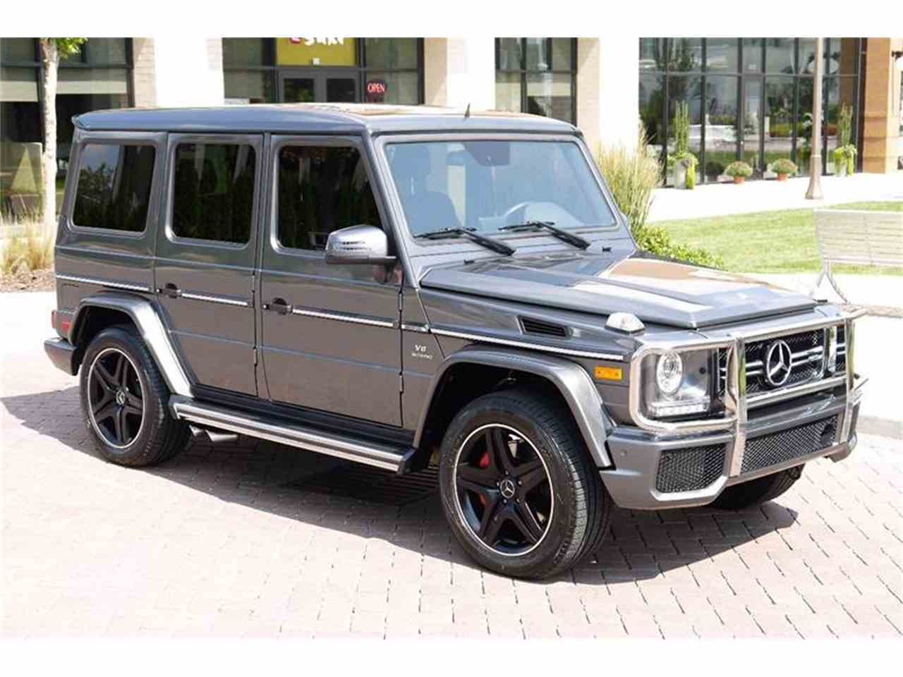 Large Picture of '16 Mercedes-Benz G-Class - M2N3