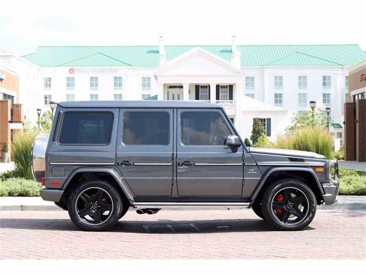 Large Picture of '16 Mercedes-Benz G-Class Auction Vehicle - M2N3