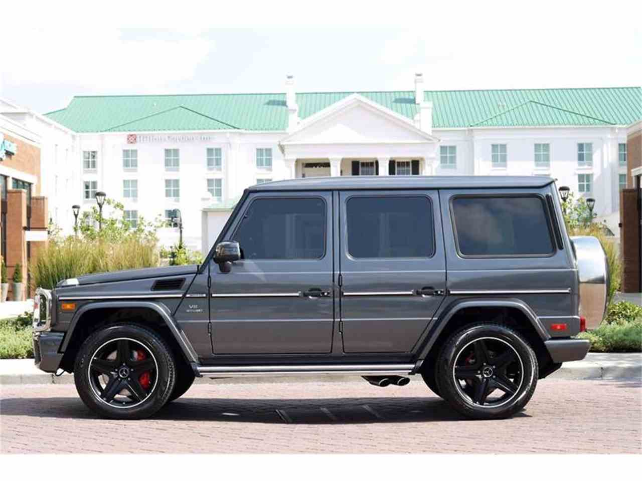 Large Picture of '16 G-Class located in Brentwood Tennessee - M2N3
