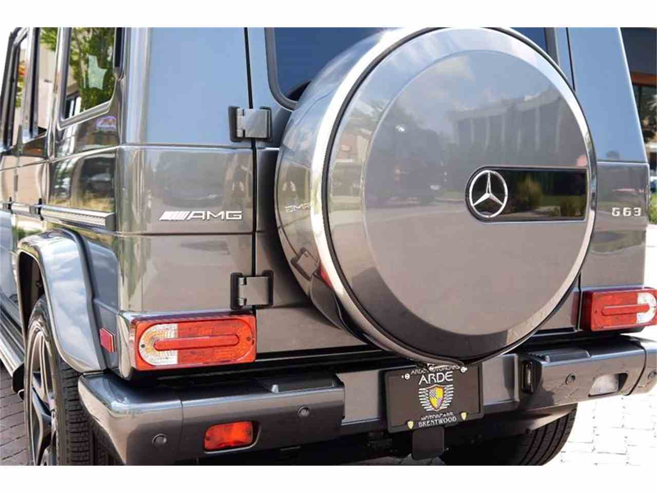 Large Picture of 2016 Mercedes-Benz G-Class located in Brentwood Tennessee Auction Vehicle - M2N3
