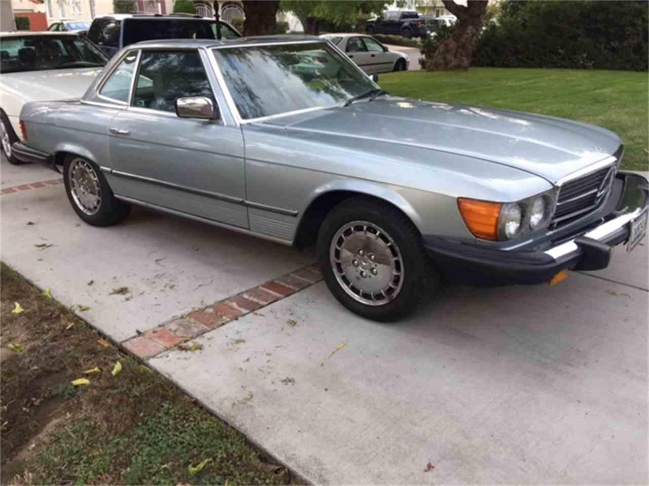 1984 mercedes benz 380sl for sale cc for Mercedes benz of van nuys