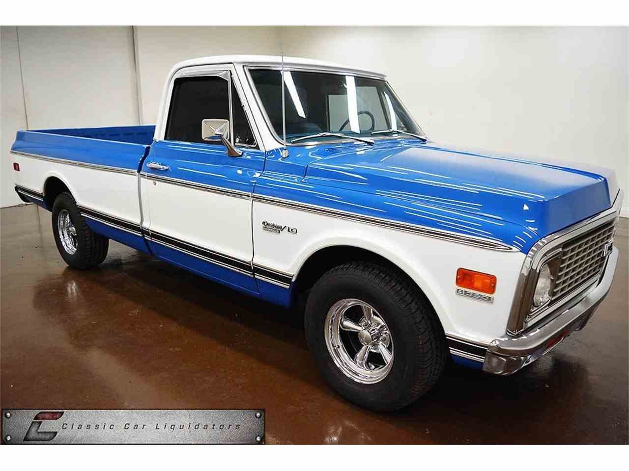 All Chevy c10 72 chevy : 1972 Chevrolet C10 for Sale | ClassicCars.com | CC-1031018